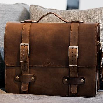 5e2be967b49e6 Teczki skórzane męskie | Torby na laptopa - Barelly Bags