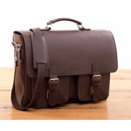 Teczki skórzane męskie | Torby na laptopa Barelly Bags